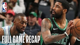 Celtics vs Hornets | Kemba Walker Rallies the Hornets Back in the 4th  | March 23, 2019