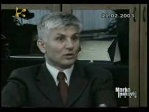 Zoran Đinđić, ex Prime Minister of the Republic of Serbia: 'One who kill me was...'