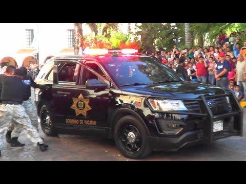[SSP] Policía Estatal de Yucatán | Desfile 20 de Noviembre de 2017 - State Police parade
