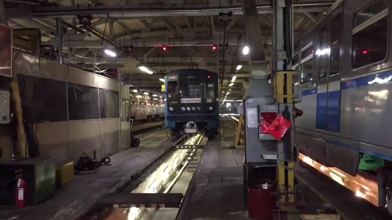 Первый поезд чистые пруды разделяю