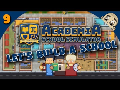 ACADEMIA: School Simulator - Ep. 9 - JANITOR ARMY! - Prison Architect Style School Simulator