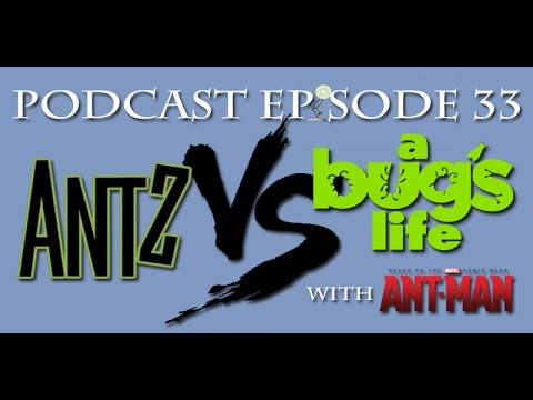 A Play On Nerds - Podcast Episode 33 - Insects! Antz VS A Bug's Life