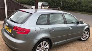 2012 AUDI A3 1.8 TFSI SPORT FOR SALE | CAR REVIEW VLOG