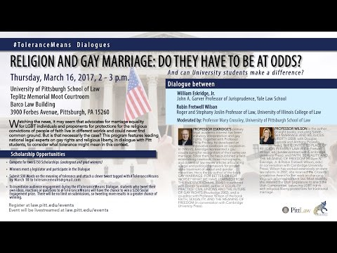 Religion and Gay Marriage: Do They Have To Be At Odds?