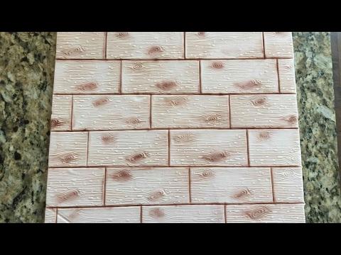 Fondant Wood Effect Cake Board