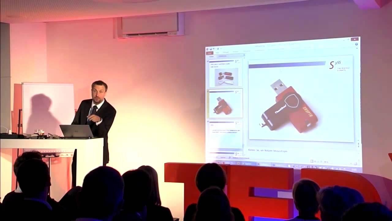Live Hacking. 7 Angriffe demonstriert in 17 Minuten. | Sebastian Schreiber | TEDxTuebingen