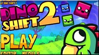 Dino Shift 2 Game Walkthrough (All Levels)
