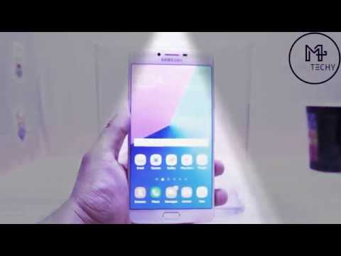 check out 46dd3 4ce38 Samsung Galaxy C9 Pro - Water Test | Is it Waterproof?
