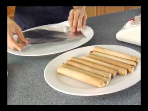 Nestle All Purpose Cream Recipes: Frozen Fruit Salad Logs