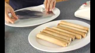 Nestle All Purpose Cream Recipes: Frozen Fruit Salad Logs