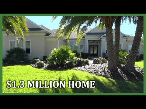Tour Of A $1.3 Million Home In The Villages