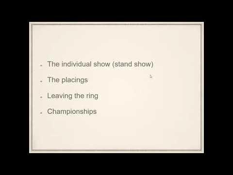 Suffolk Horse Webinar – Nigel Murfitt discusses showing and ring craft