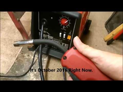Clarke 135TE Mig Welder Review - Gas Regulator