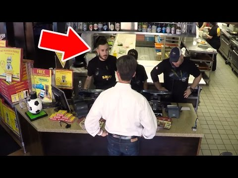 Rude Pizza Boy Worker Prank (Customers Get MAD!)