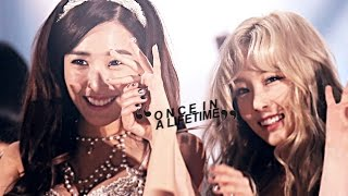 taeny ❖ once in a lifetime