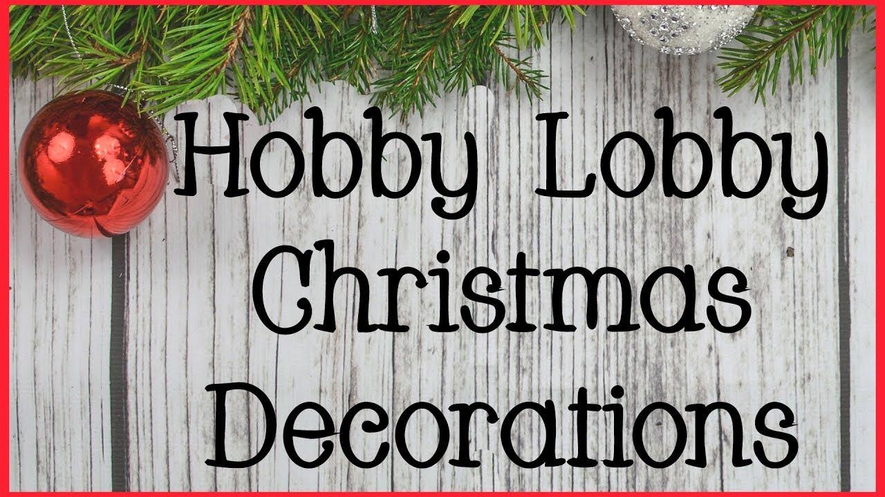 hobbylobby hobbylobbychristmas christmasdecorations - Hobby Lobby Hours Christmas Eve