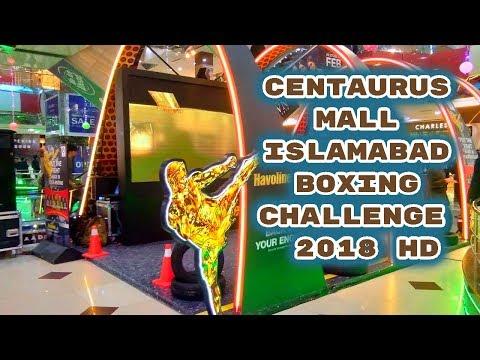 Centaurus mall islamabad Boxing Challenge  2018 HD