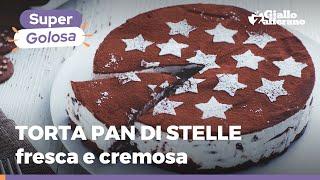TORTA PAN DI STELLE SENZA COTTURA