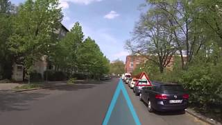 NavAR – urban bicycle navigation with augmented reality