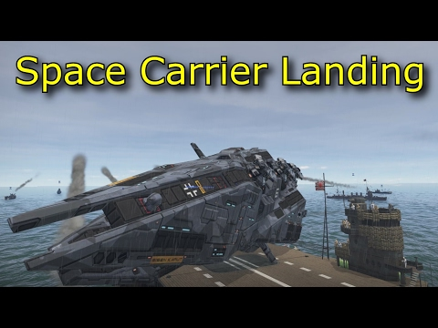 Space Carrier Carrier Landing