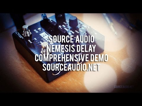 Source Audio: NEMESIS Delay - Comprehensive Demo