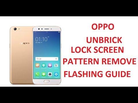 OPPO F3 CPH1609 Remove Pattern Lock Flash Firmware Download