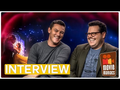 Beauty and the Beast | Rose quiz with the cast - Luke Evans, Josh Gad & Co (Interview)