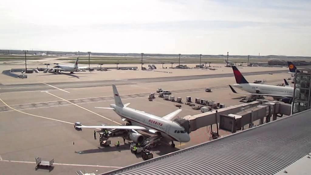 Besucherterrasse Flughafen Frankfurt Airport 2013 Teil 1 Youtube