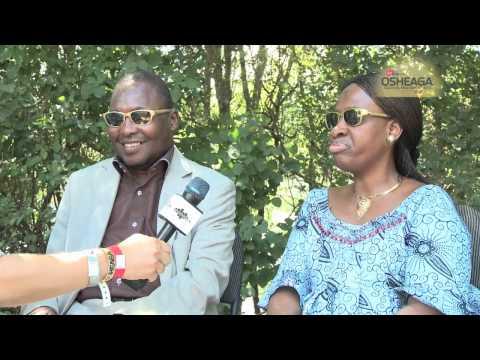 Osheaga 2012 - Amadou et Mariam Interview / Entrevue avec Amadou et Mariam