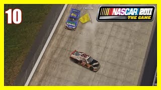 (Being Too Greedy Lapping People) NASCAR 2011 The Game Career Mode Part #10