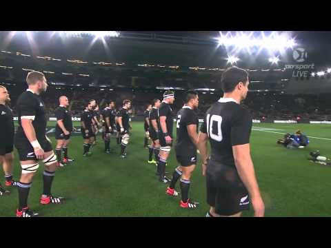 New Zealand vs Australia  (Anthems & Haka)
