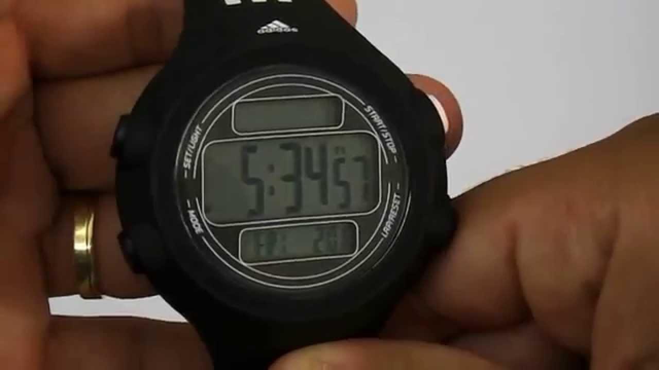 c036cbe63db Relogio Adidas Unissex Adp6081 8pn - YouTube
