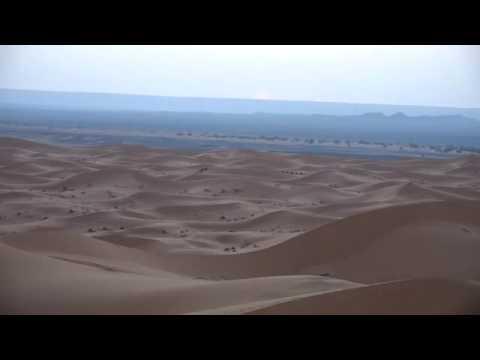 Moroccan Sahara desert Erg Chebbi Dunes,  Merzouga