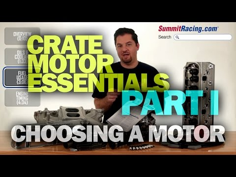 Choosing the Right Crate Engine for Your Project from Summit Racing