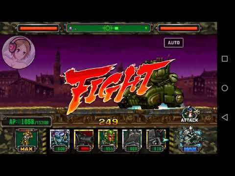 "Leona Orochi Vs Unidades Bosses """"""Metal Slug Attack"""""" (MSA.)"