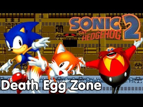 Let S Play Sonic The Hedgehog 2 Death Egg Zone Youtube