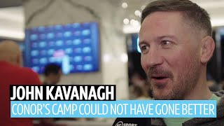 John Kavanagh reveals Conor McGregor