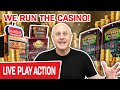 BIGGEST LIVE SLOT BETS ON YOUTUBE! 💻 We RUN The Casino ...