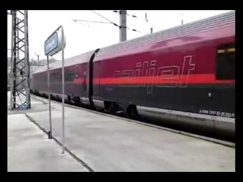 RAILJET Vienna to Salzburg