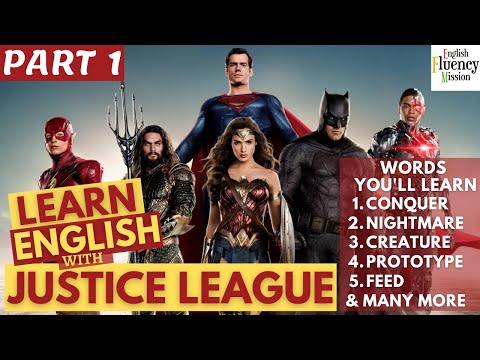Learn English with Justice League Movie | The Story of Steppenwolf | Justice League