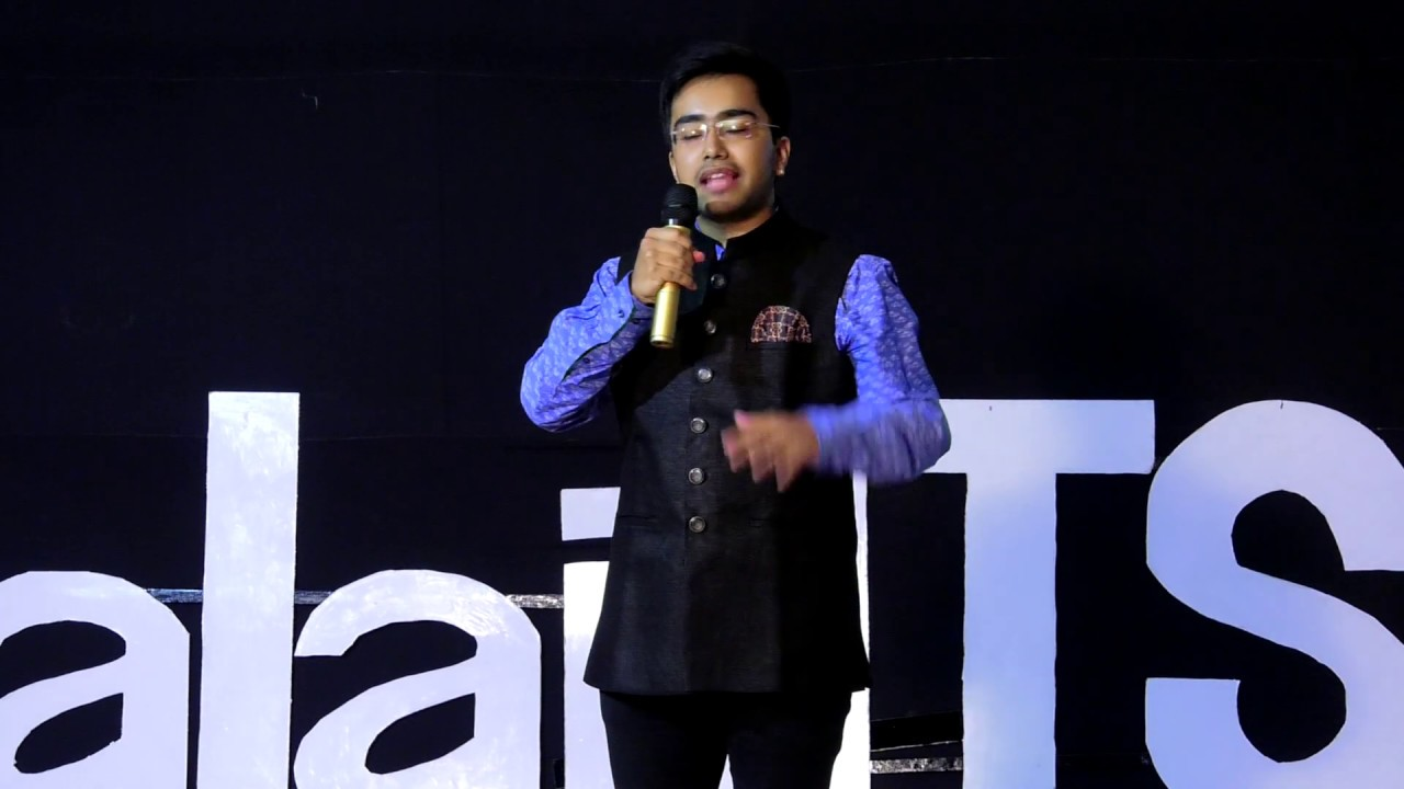 The Game Is All About The Name | VANKY KENNY | TEDxBalajiITS