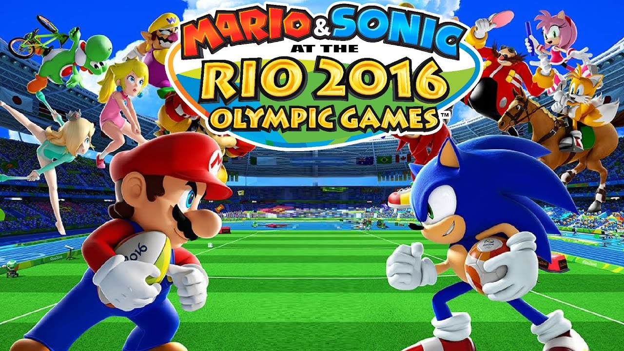 Mario & Sonic at the Rio 2016 Olympic Games Wii U - MAX ...