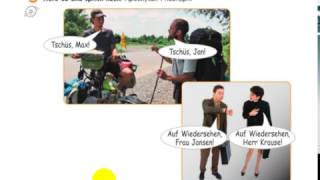 Немецкий для начинающих. Урок 1. Приветствие, знакомство, прощание.