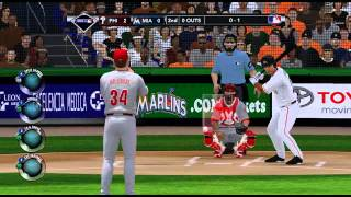 MLB 2K13 Philadelphia Phillies VS Miami Marlins