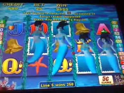 magic mermaid slot machine