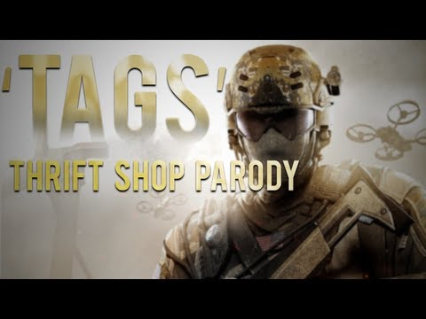 ♪ 'Tags' - Black Ops 2 Song - (Parody of Macklemore Thrift Shop)