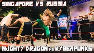 Mighty Dragon (c) w/ Jane Foo v Russian Kyberpunks