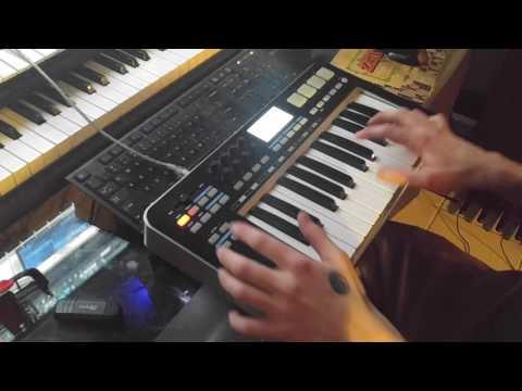 Usando teclado midi samson graphite M25(Basico):: superlike club