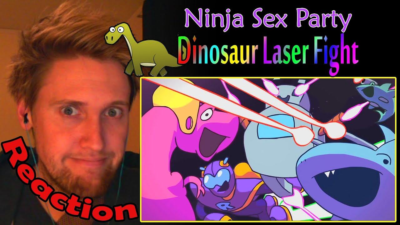 Ninja sex party dinosaur laser fight foto 92