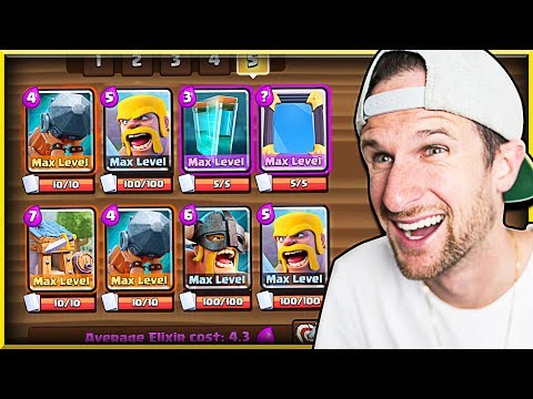 HOW DID THIS WORK?? • Clash Royale Barbarian Deck!
